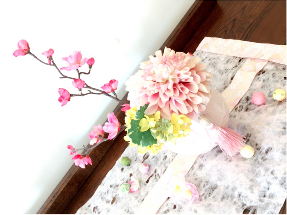明日はひな祭り♡おひなさまとお花のコラボレーションが秀逸すぎる♡_4
