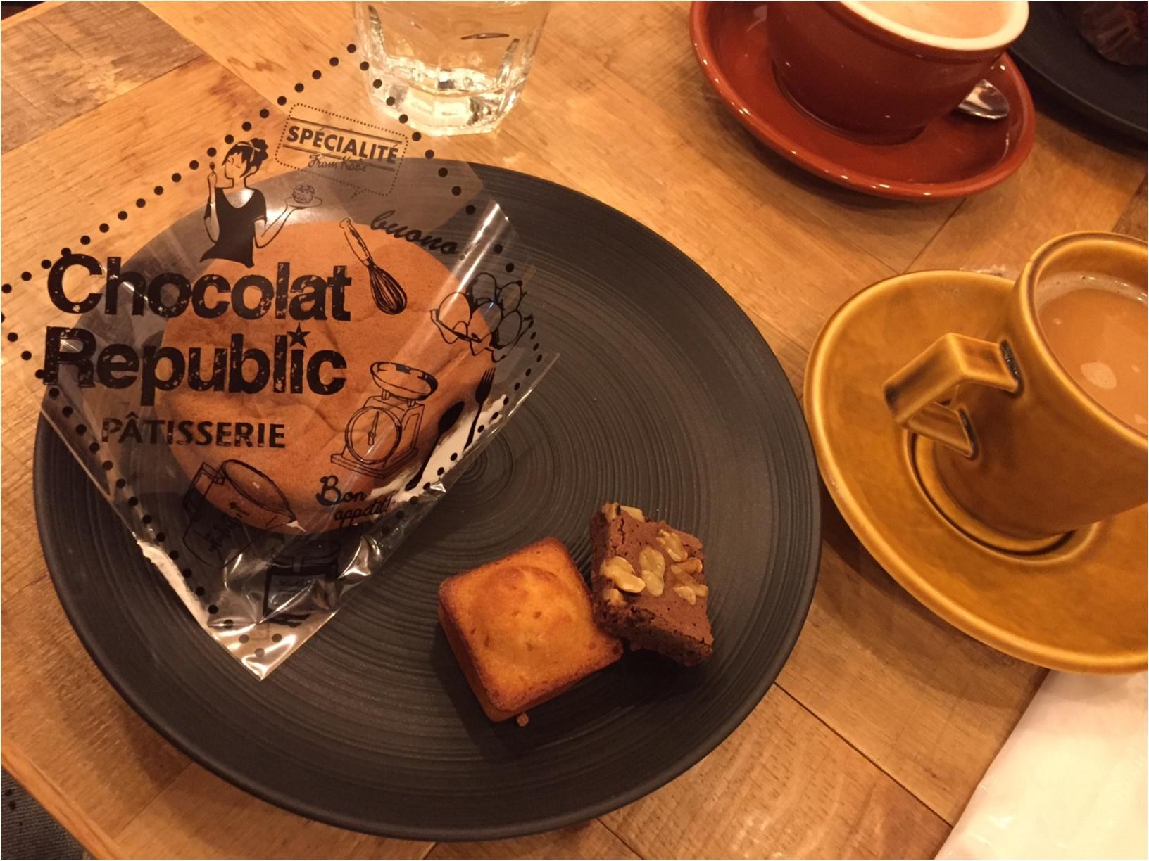 神戸ならではの洋菓子文化を感じられるカフェ♡ChocolatRepublic_8