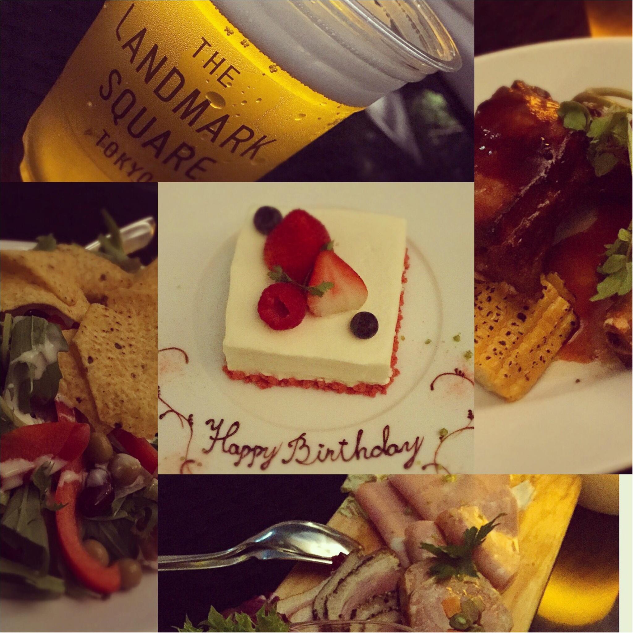 料理も最高♡1ランク上のビアガーデンで優雅なひとときを過ごすなら✨バースデーサプライズにもお薦め♪【THE LANDMARK SQUARE TOKYO】_15