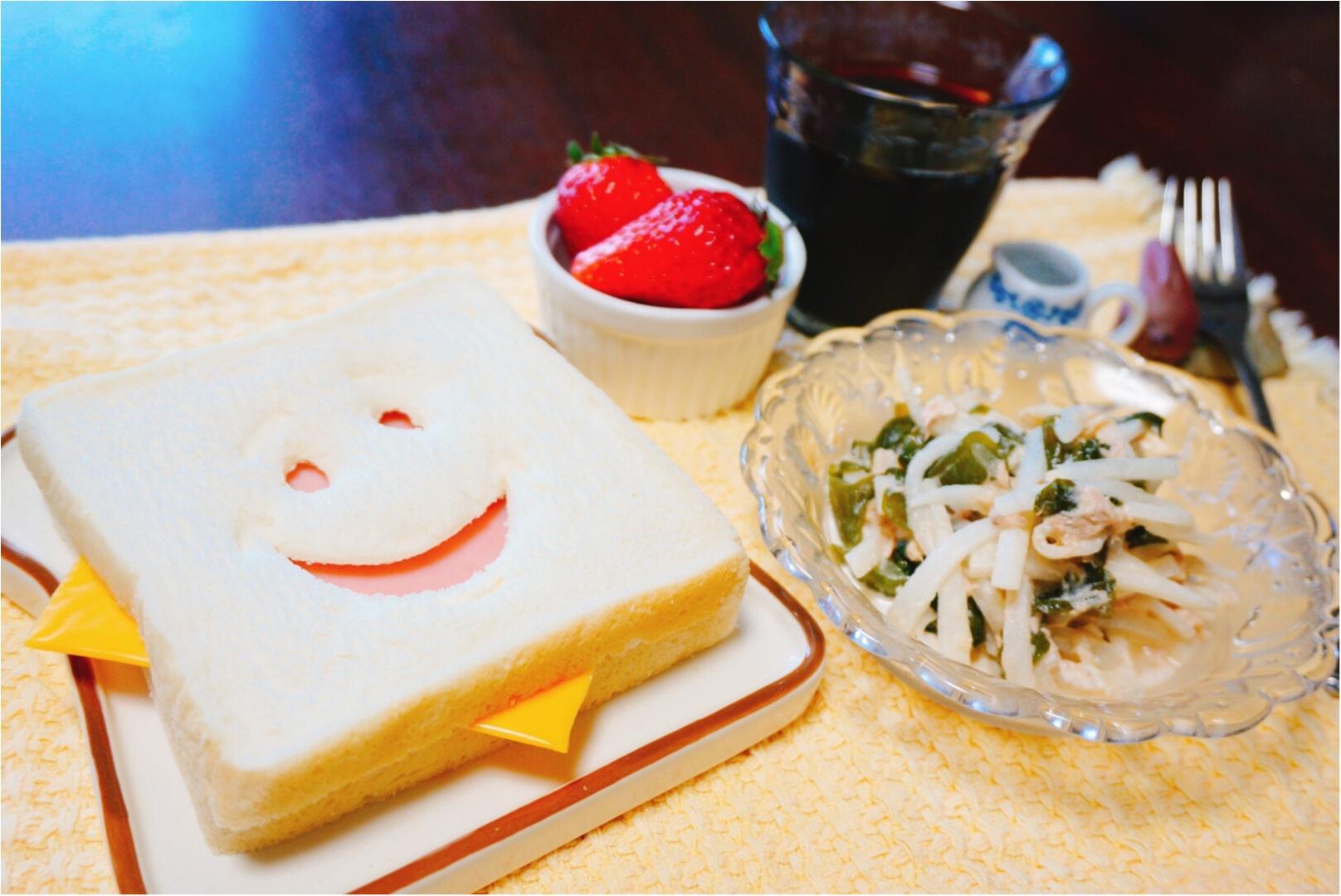 《朝からほっこり♡》SNSで話題の『ブレッドカッター』でいつもの食卓を楽しくしちゃおう♪_6