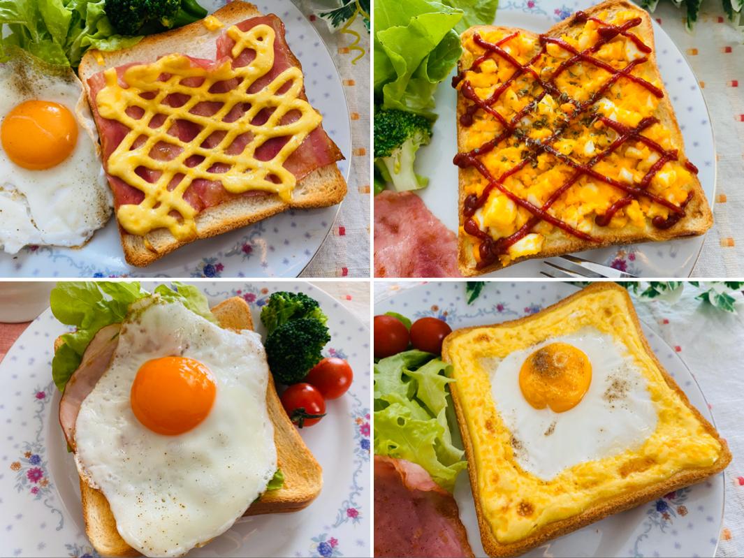【おうち時間】簡単なのに絶品!《アレンジトースト》の人気レシピを実践してみた♡_1