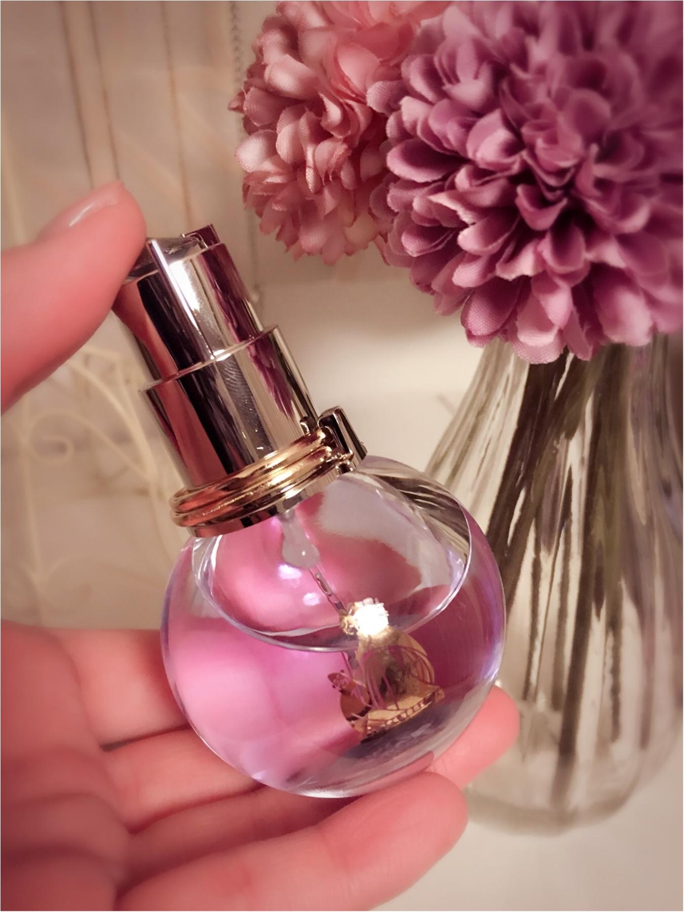 ♡モテ香水はこれだ!!女子会・デートの前にシュッと♫ランバンの香水が使える♡_1