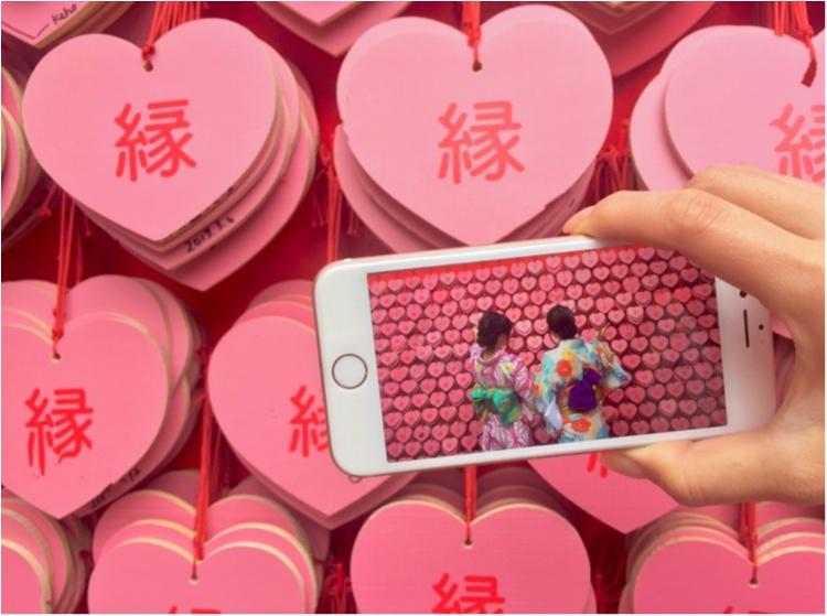 【TRIP】愛知県犬山市♡! #ハートの絵馬 が可愛いすぎ♡縁結び、恋愛成就の三光稲荷神社⋈_6