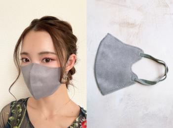 【SNSでも話題?】《形が綺麗な不織布マスク》がメイクも落ちにくくて優秀!