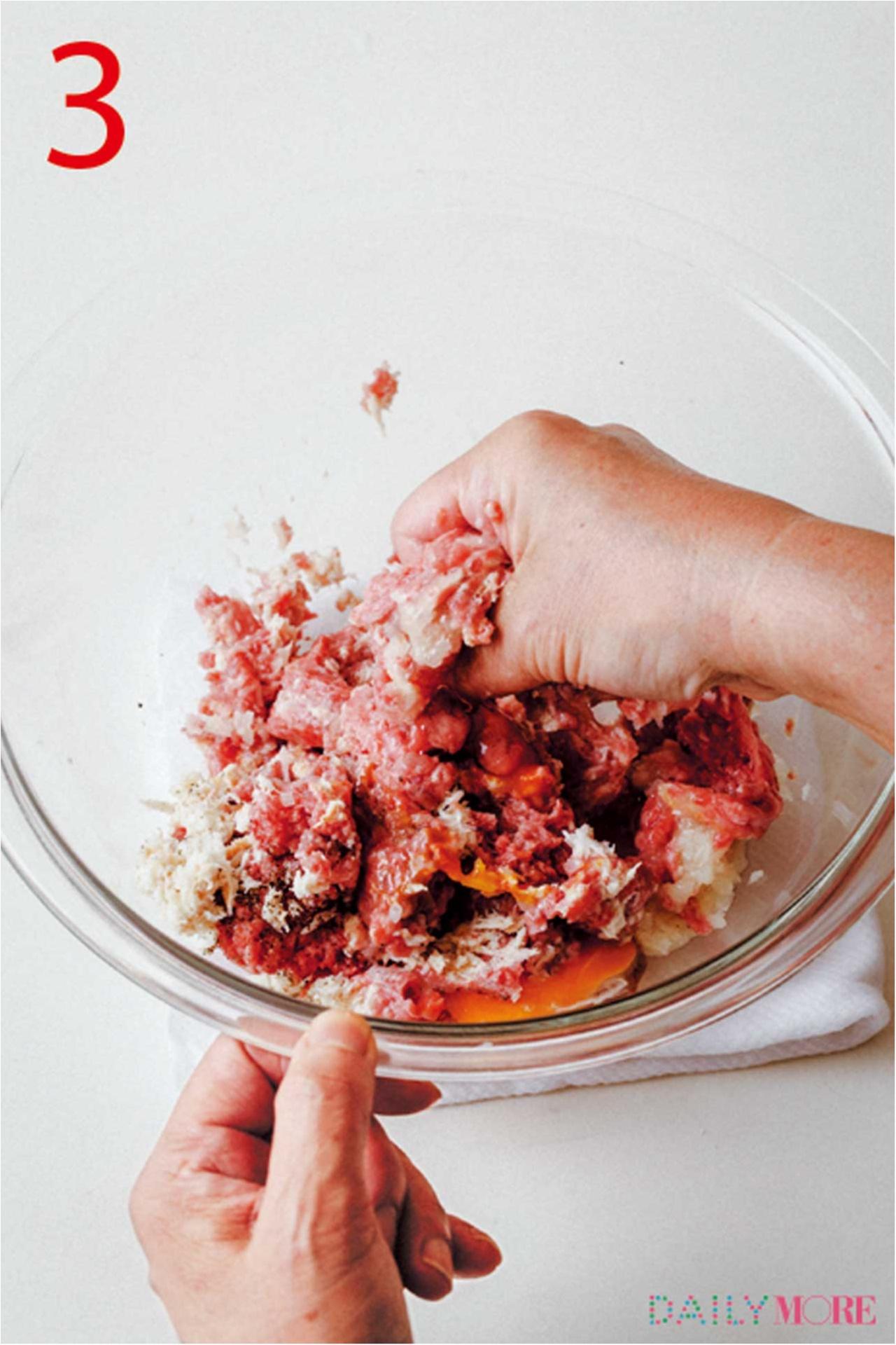 これぞ結婚できるハンバーグ!?  覚えておきたい『世界一おいしい♡ 基本のハンバーグ』レシピ_6