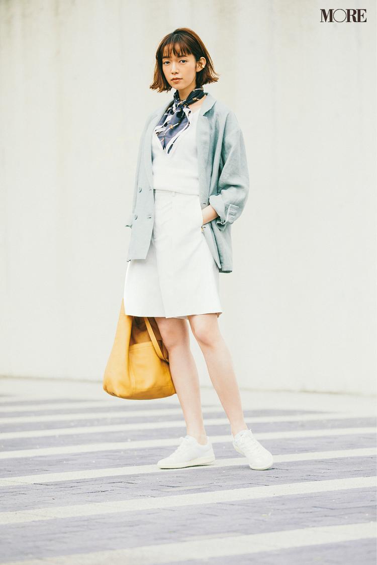 白いレザースニーカーなら理想の「きれいめ」もお手のもの! スタイリスト高野麻子さんの注目ブランド5選_6