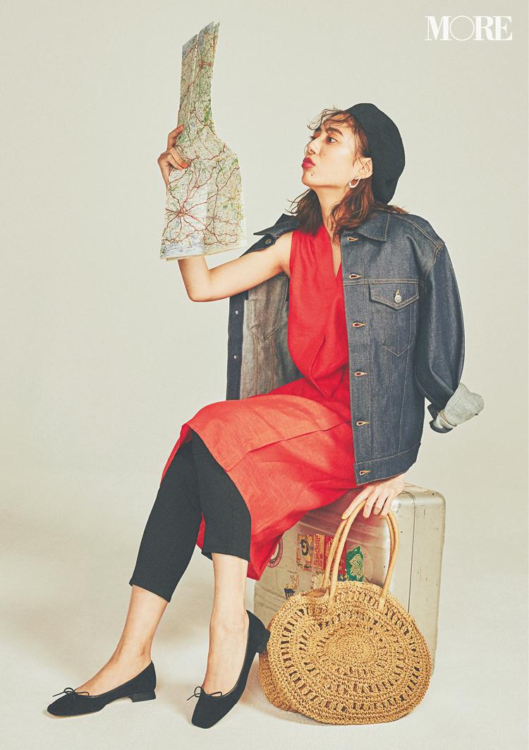 【靴とバッグ】でガラリと変わる! いまどきワンピースは小物使いで差をつけて♡_5