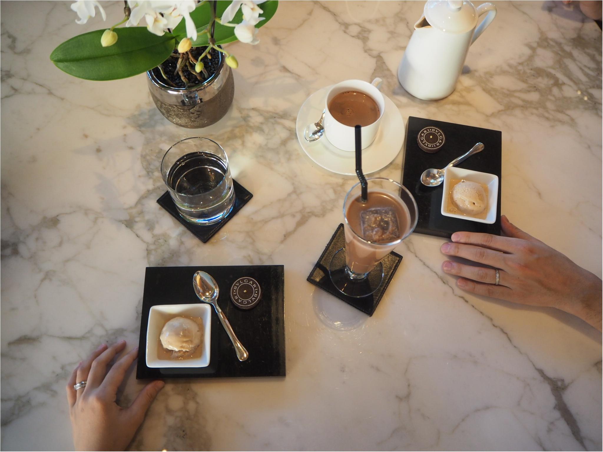 ~銀座の中心でカフェタイムはいかが?~【BVLGARI Il bar(ブルガリイルバー)】で贅沢なティータイムを♪_3