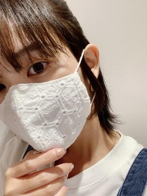 【マスクもオシャレの一部!】手作りマスクを購入♡_2