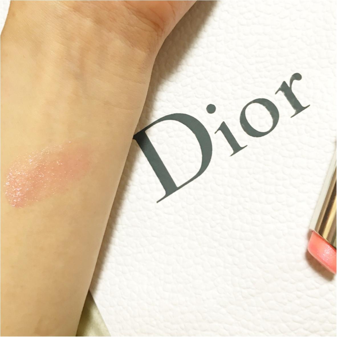 キラキラのくちびるに…♡【Dior(ディオール)】アディクトリップグロウ《ホロピンク》がかわいすぎるっ!!_4