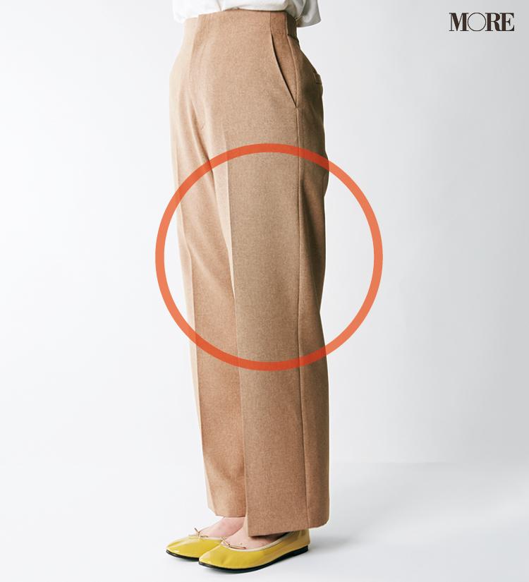 デニムパンツ&ワイドパンツ、どの靴と合わせるのが1番きれい? MOREがその相性を徹底検証!_4_5