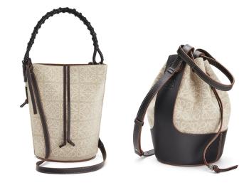 『ロエベ』プレフォールの新作バッグは「アナグラム・リネン」! バルーンバッグも登場♡