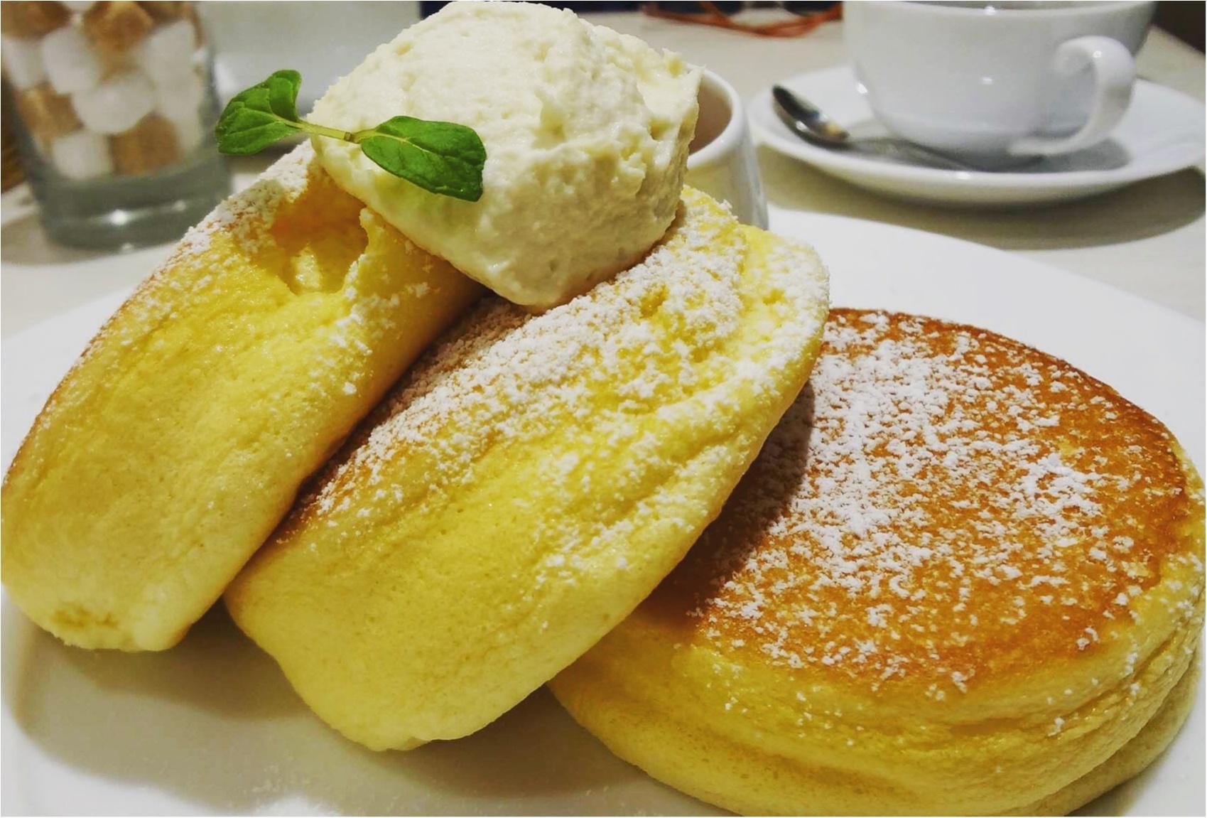 大人気!幸せのパンケーキ♡日曜日に待ち時間15分程で入店できました((´∀`*))✨≪samenyan≫_7