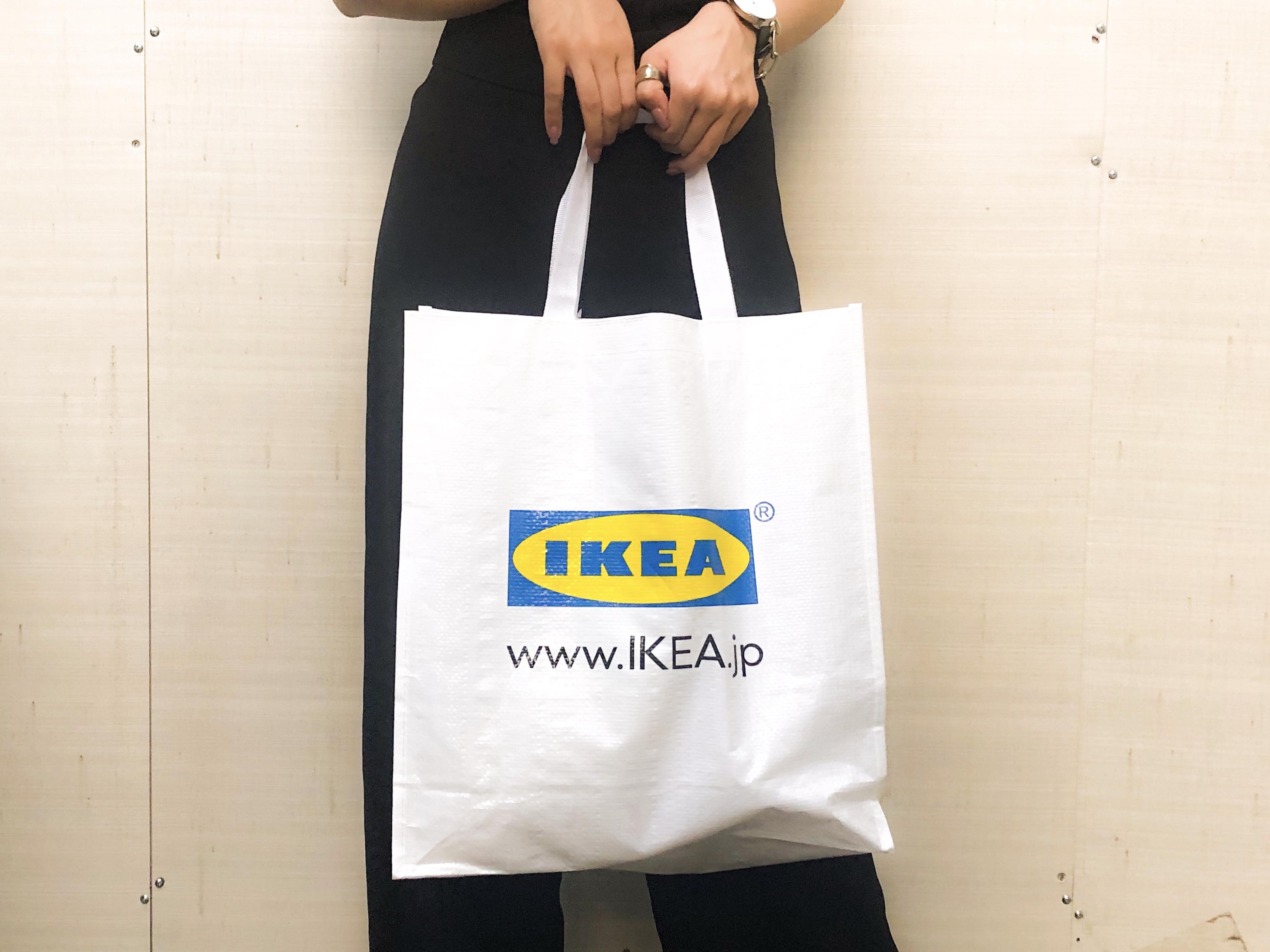 【エコバッグ】199円!丈夫でかわいい「IKEA」のKLAMBY(クラムビー)が超つかえる♡_1
