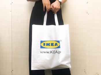 【エコバッグ】199円!丈夫でかわいい「IKEA」のKLAMBY(クラムビー)が超つかえる♡