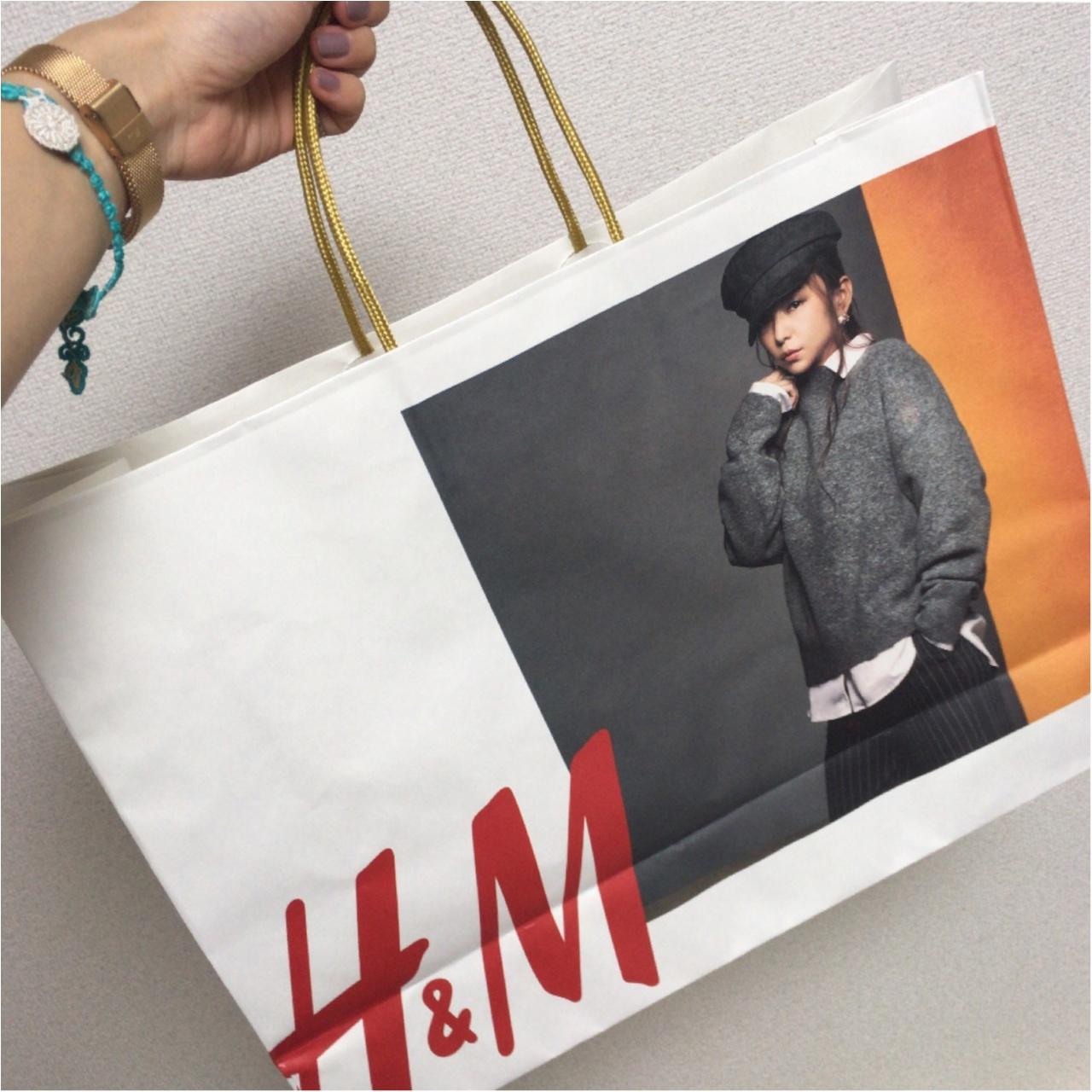 """≪""""Namie Amuro × H&M""""第2弾≫奇跡のコラボがまたまたスタート!♡わたしがゲットしたのはコレ!_5"""