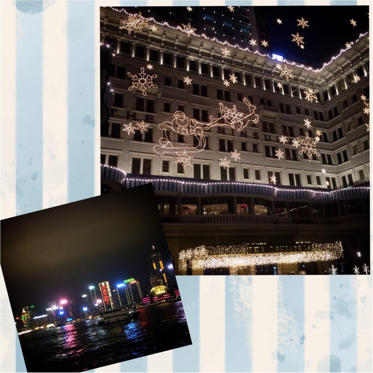 【vacation】HONG KONGのイルミネーションとオススメ地元スウィーツ店♡_1