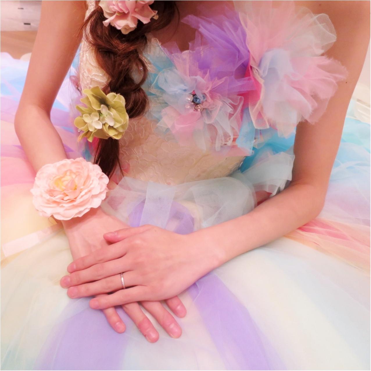 【Wedding】ウェディングドレス《 THE HANY(ザハニー) 》で人気No.1のレインボードレスがかわいすぎる♡_3