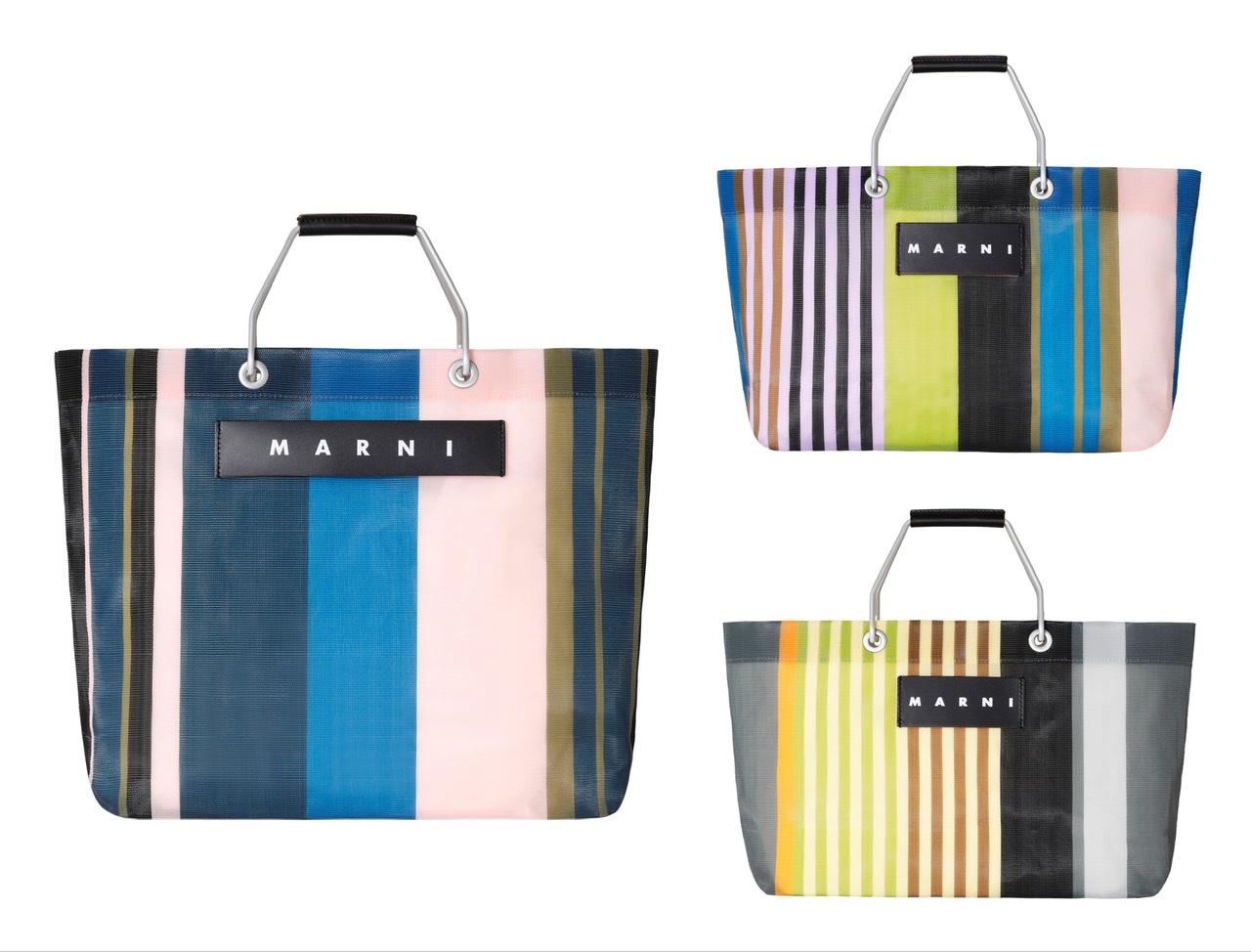 『マルニ』のストライプバッグに新色&ミニサイズ登場! 今年も大ヒット間違いなしです♡_1