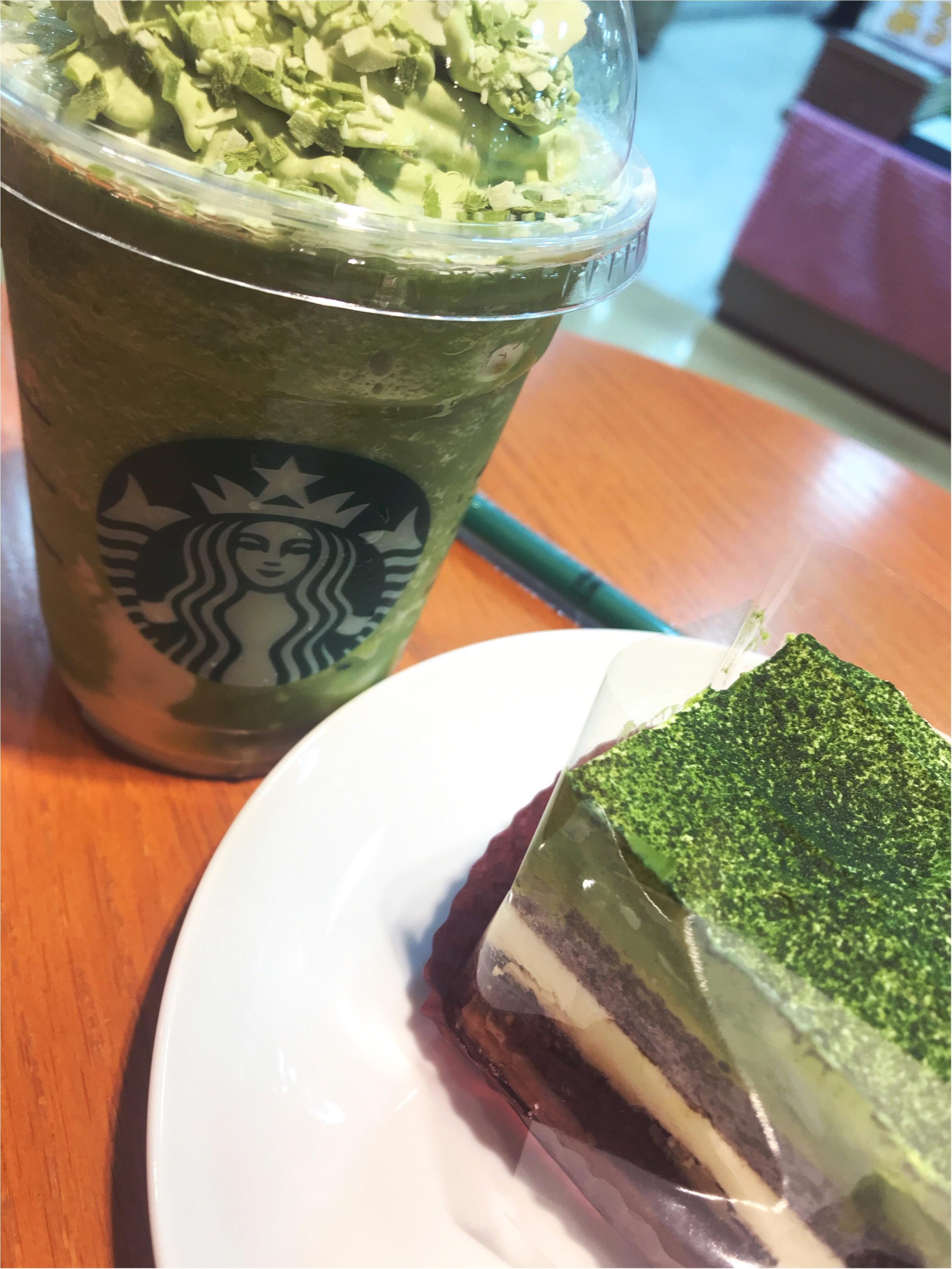 【スタバ新作】みんな大好きな抹茶にマスカットにマスカルポーネ?!絶対美味しいやつ!!_1