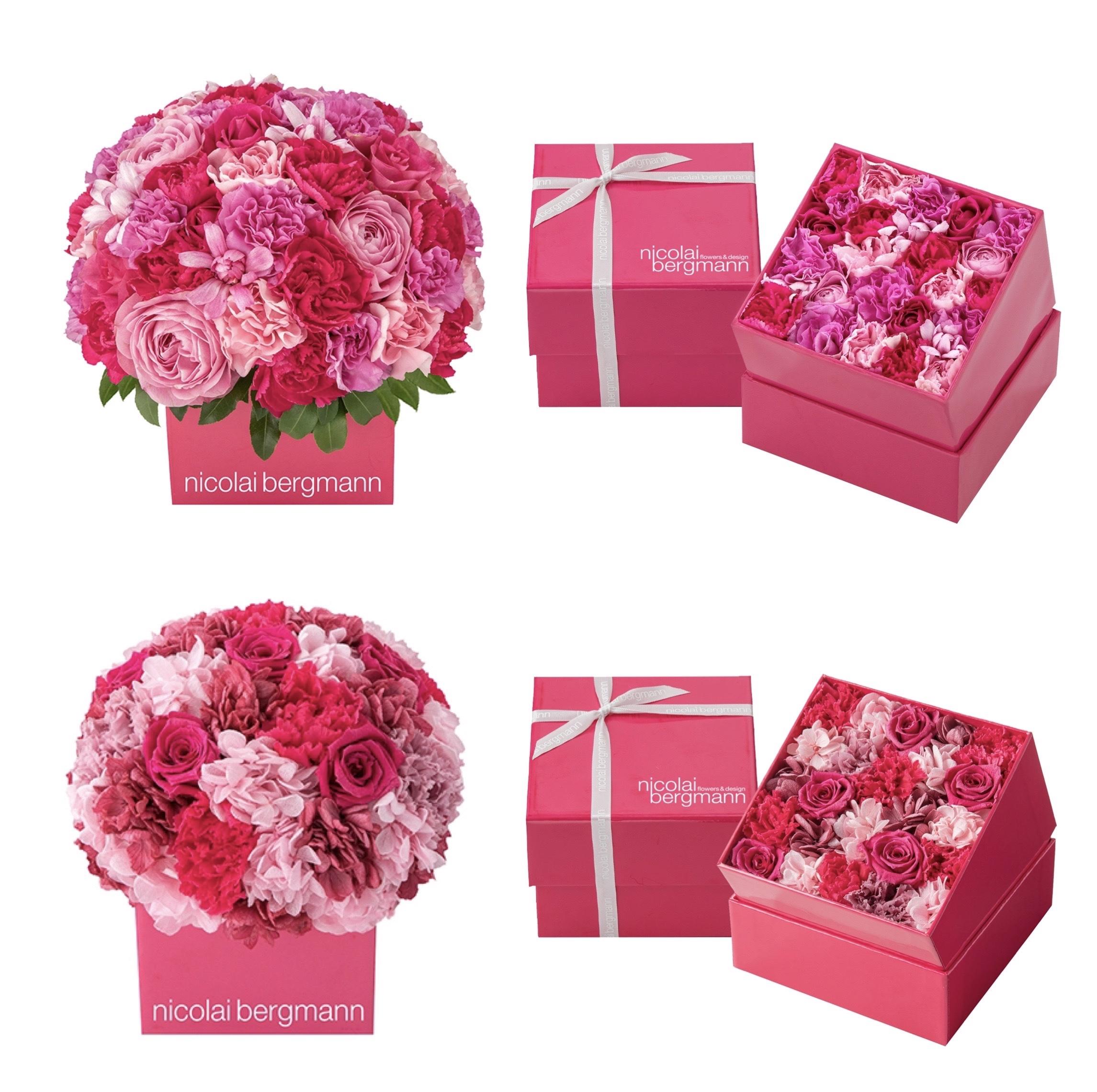 お母さんに気持ちも花やぐビビッドピンクを贈ろう♡ 『ニコライ バーグマン』母の日限定フラワーボックス発売中!PhotoGallery_1_2