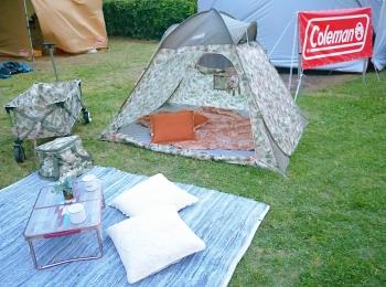 気軽にはじめるお洒落なキャンプ体験会♡アウトドアブランド「コールマン」のイベントレポ✨