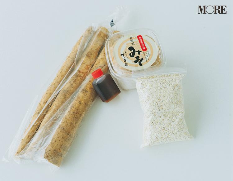 静岡県のおすすめお取り寄せグルメ「丁子屋」の自然薯・みそセット