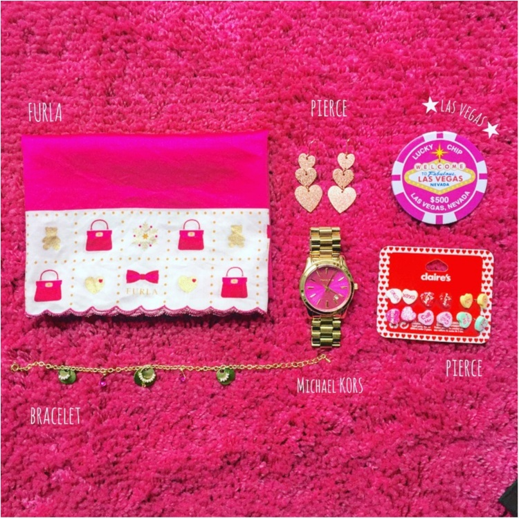 【Beauty】毎日の小物はピンクで統一気分Up♡だいすきkate spade のparty情報も♡_9