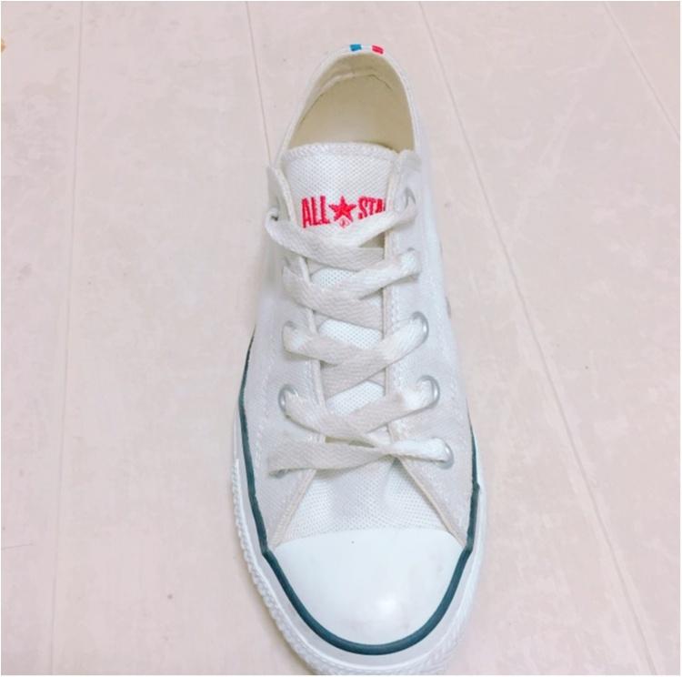 《やっぱり大好きコンバース♡》靴紐の結び方を変えて一味違う履き方してみませんか?_4