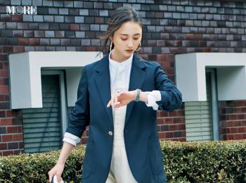 【今日のコーデ】<鈴木友菜>サロペットをきれいに着たいから。ジャケットひとつで即オンモード!