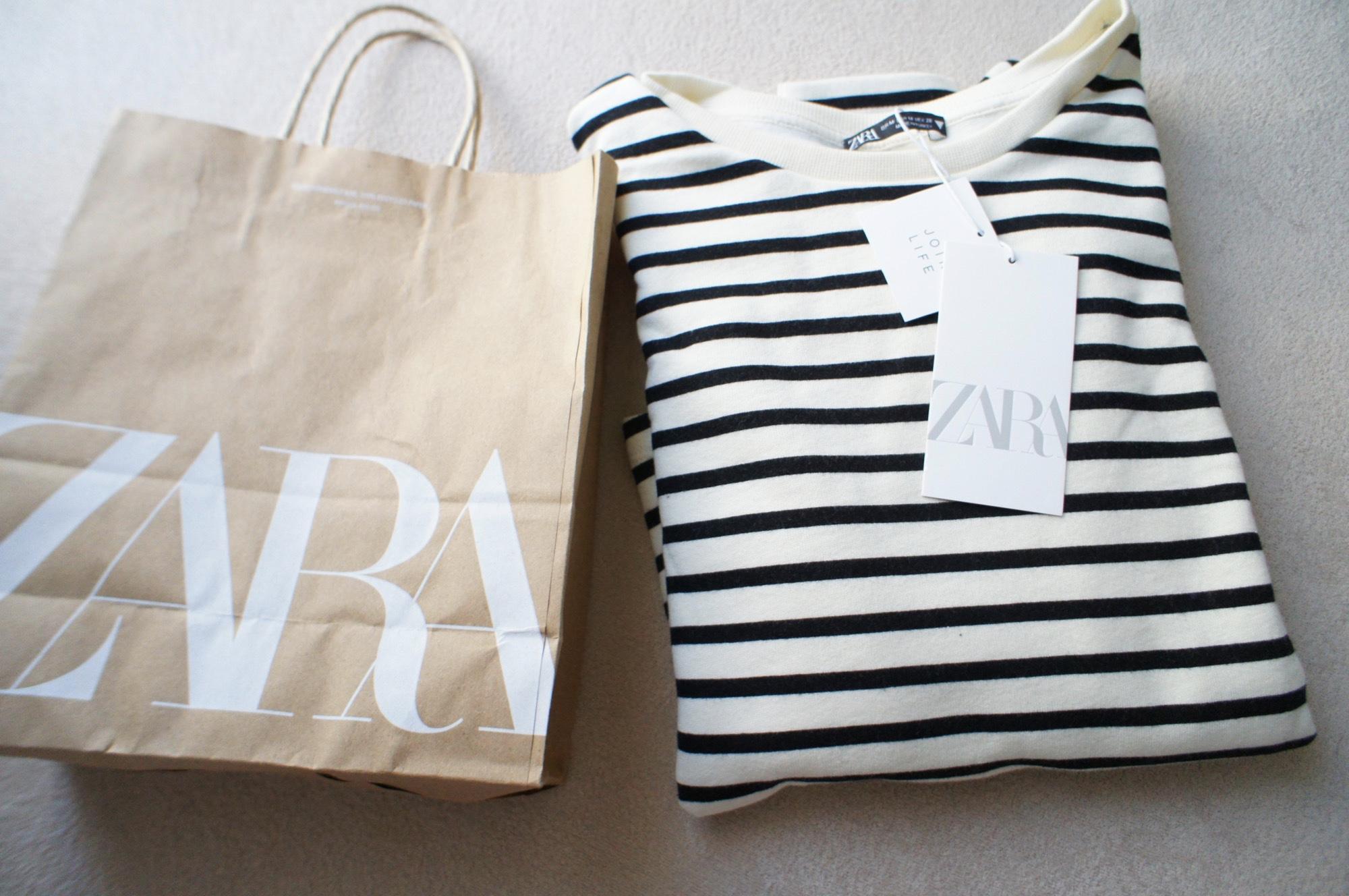 《#ザラジョ 必見❤️》今すぐ使える!【ZARA】バルーンスリーブスウェットシャツが可愛すぎる☻_1