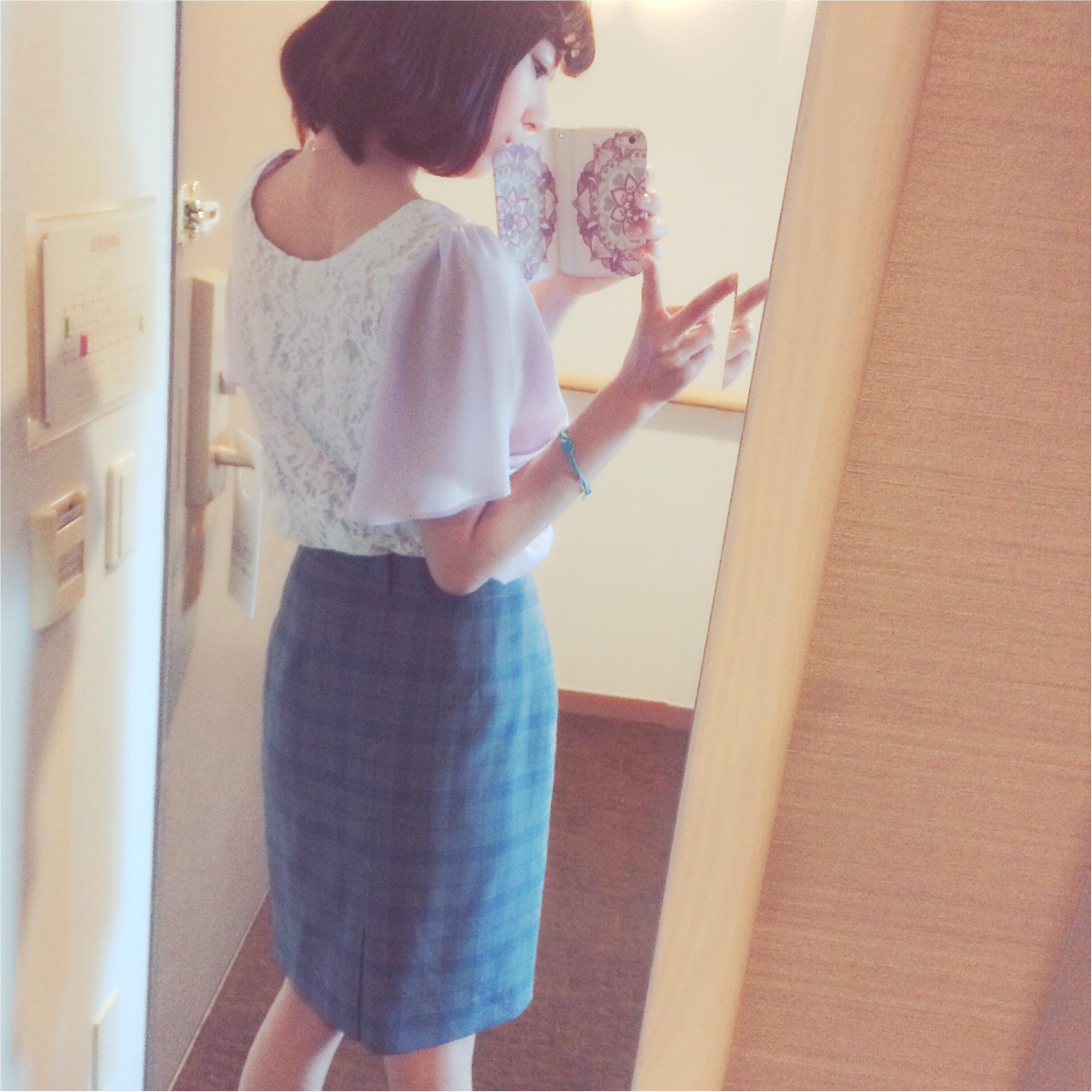 ★スーツでも柔らかい雰囲気に⁉︎淡色スーツコーデ★_9