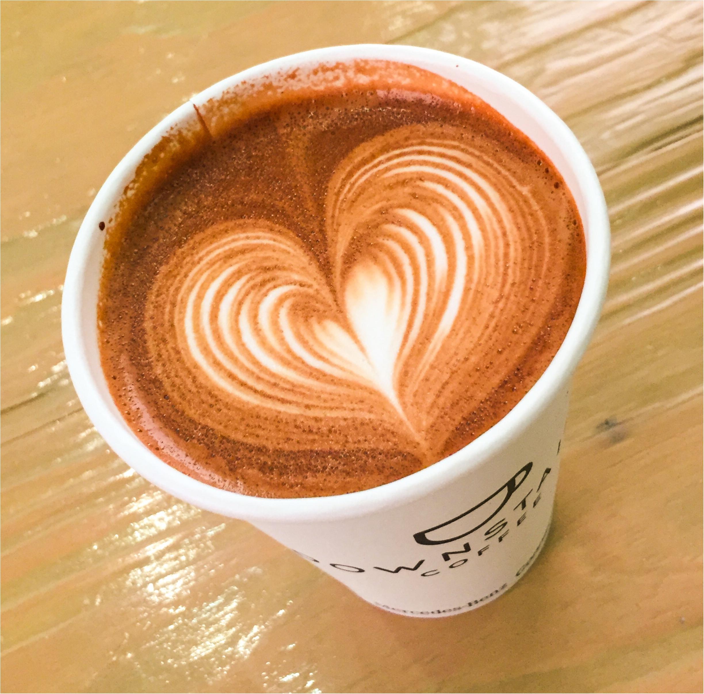 【隠れた人気カフェ】グランフロント大阪 DOWN STAIRS COFFEE【ラテアート✨】_4