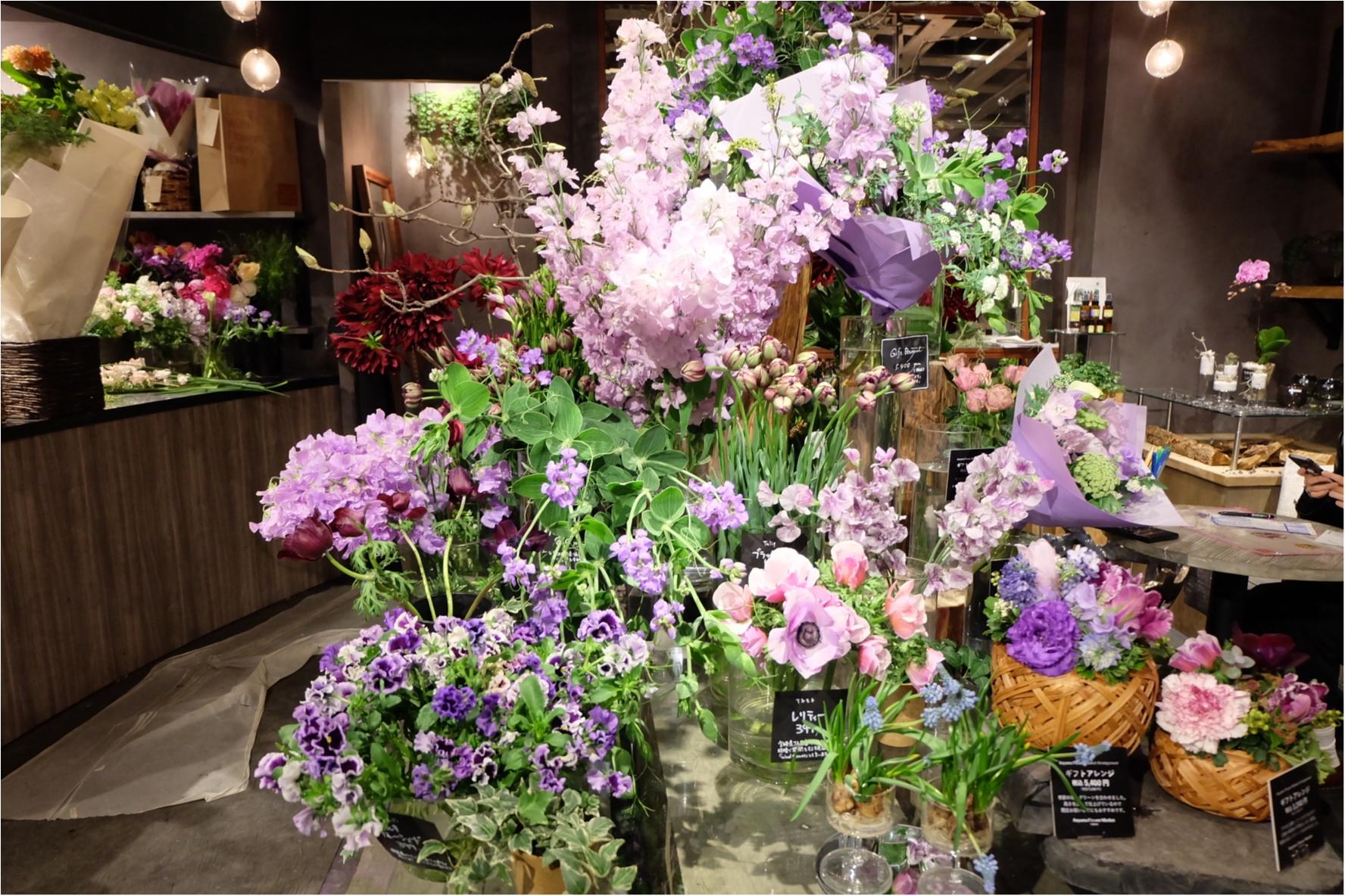 【ご当地MORE♡東京】AOYAMA FLOWER MARKET TEA HOUSEでお花に囲まれて女子会ができちゃう贅沢スポット♡_1