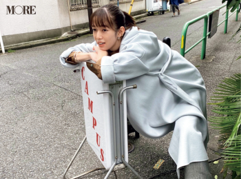 佐藤栞里のお蔵入りカットを公開! 【モデルのオフショット】