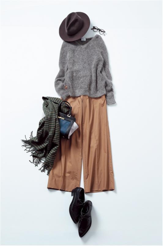 【2月に買って4月までずっと着る!】篠田麻里子のパンツ着まわし×3_2