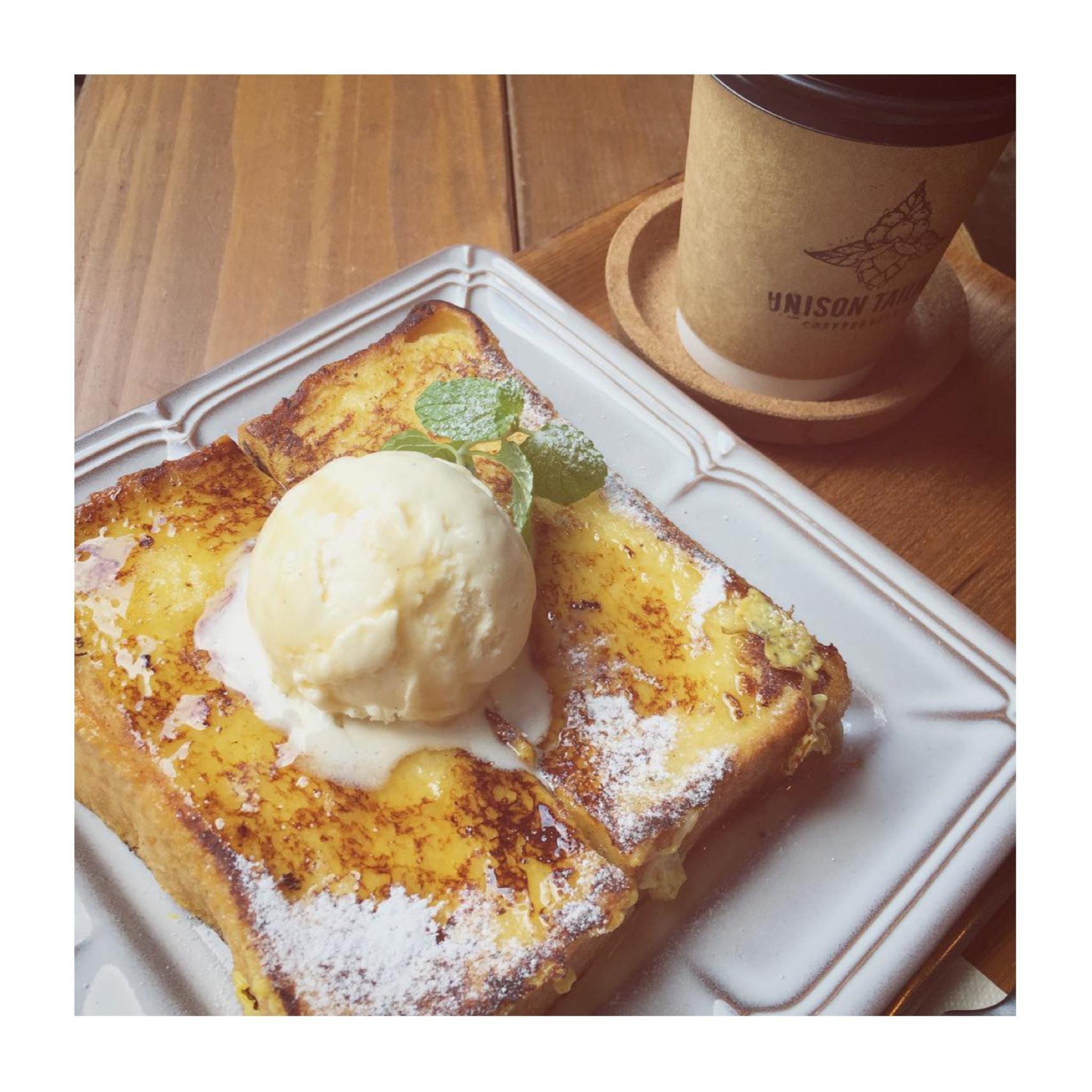 #18【#cafestagram】❤️:《東京•人形町》都内で絶品フレンチトーストを食べるならココ☝︎『UNISON TAILOR』☻_3