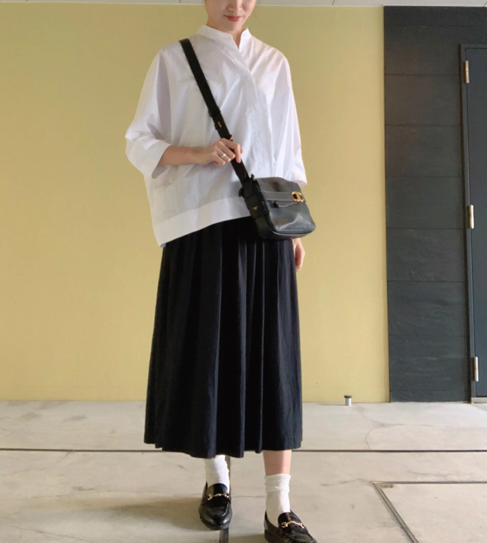 『ユニクロ×イネス・ド・ラ・フレサンジュ』のスカート