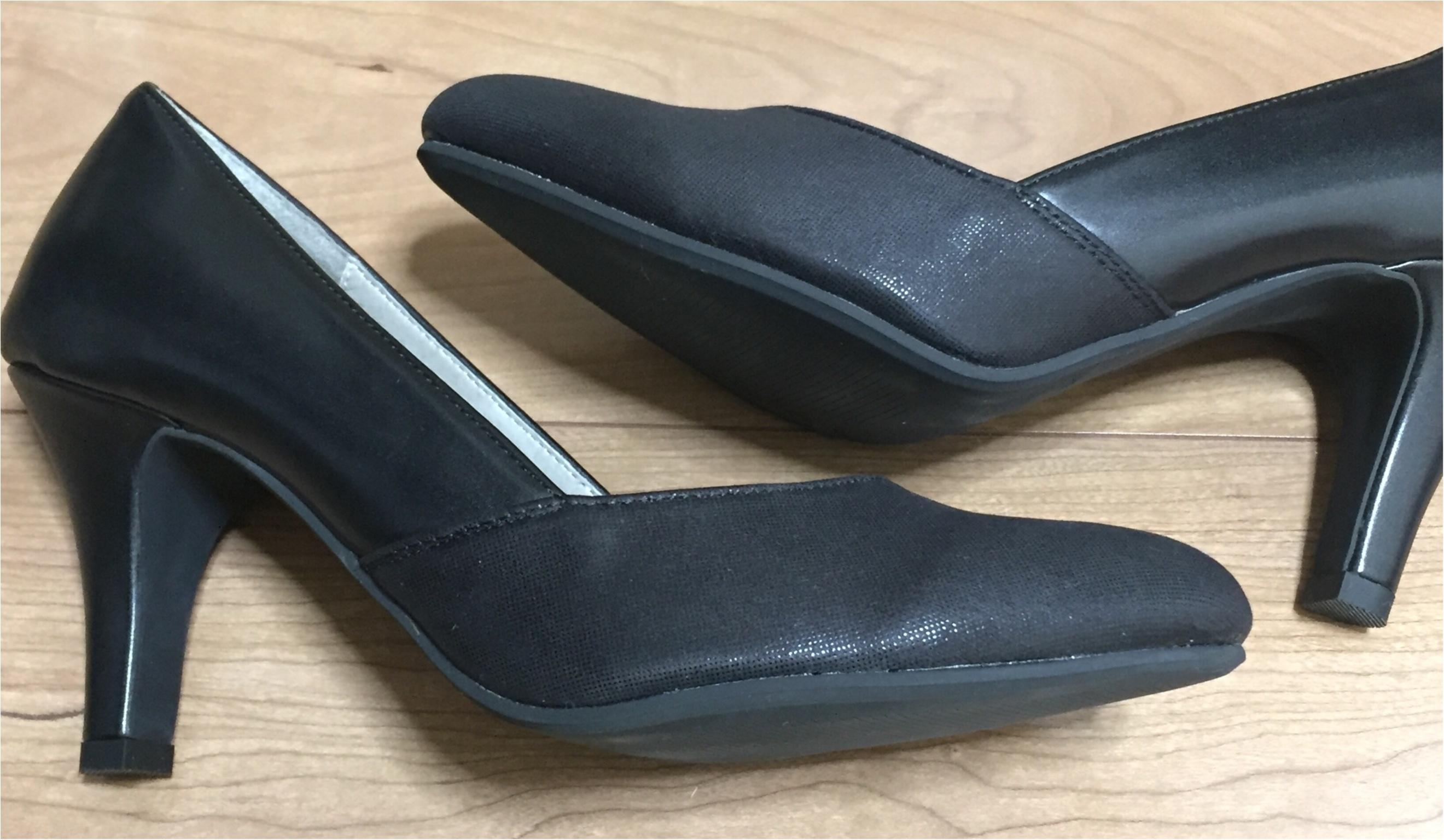 《プチプラでお気に入りの靴を手に入れる方法!》私は定番に使えるブラックパンプスを2000円でGETしてきました★_3