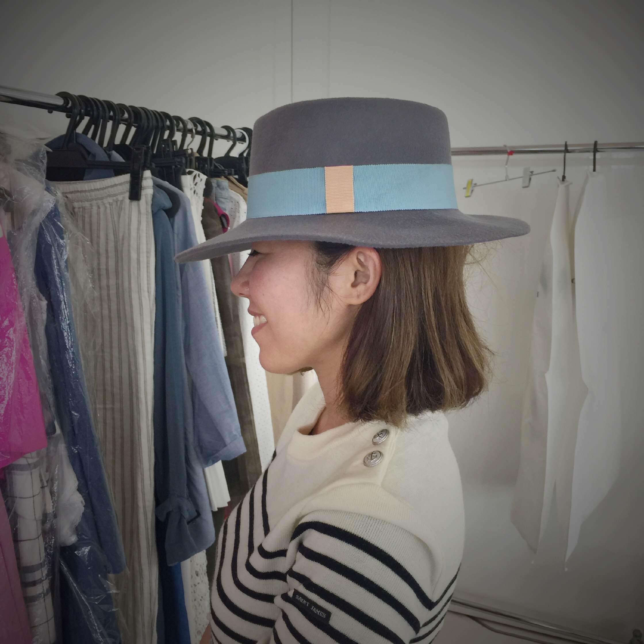 【コレ買っちゃいました!】パリから来たお帽子♪_1