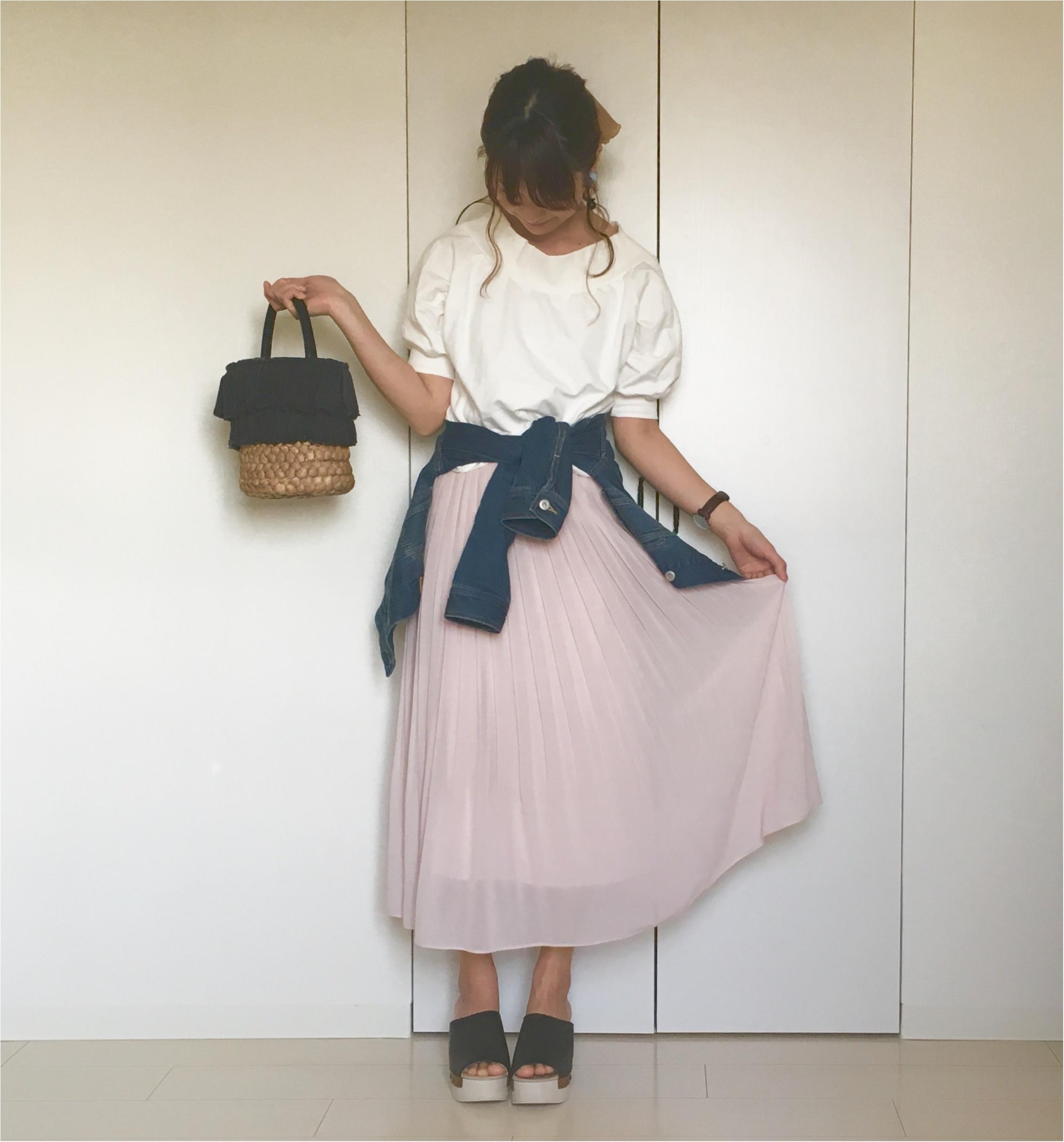 【ユニクロ】揺れ感が可愛すぎる❤️待ちに待った《春色スカート》は買うなら今がオススメ!_4