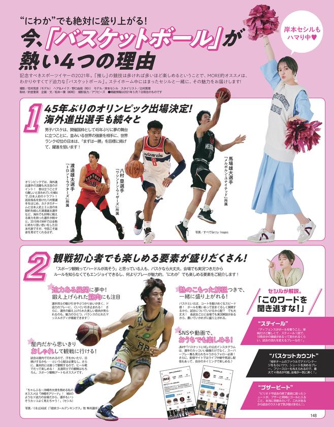 岸本セシルもハマり中♡ 今、「バスケットボール」が熱い4つの理由(1)