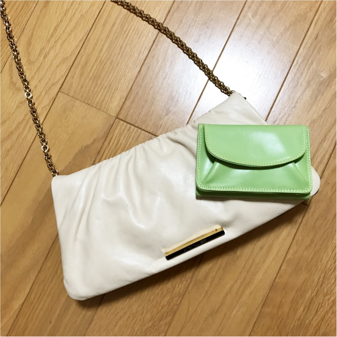 《ミニバッグの日のお供はコレ♡》和光の三つ折り財布がいちばん使いやすいっ!_4