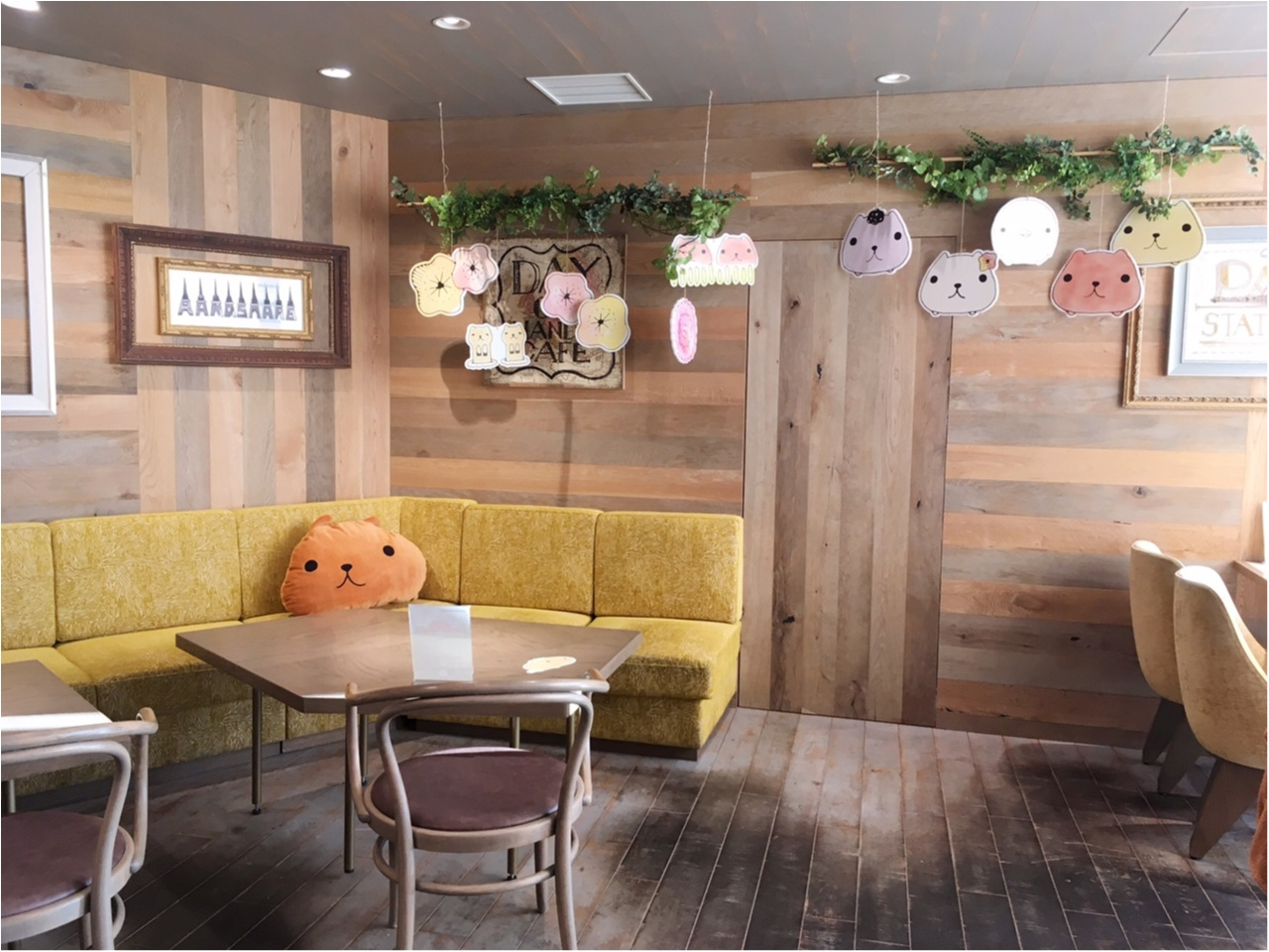 """""""大人カピバラさん""""がテーマの『KAPIBARASAN×HANDS CAFE』 に行ってきました♡_2"""