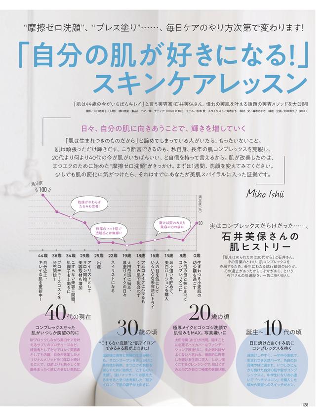 話題の美容家 石井美保さん発 1週間で「自分の肌が好きになる!」スキンケアレッスン(1)