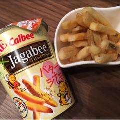Jagabeeバターシナモン味⑅◡̈*