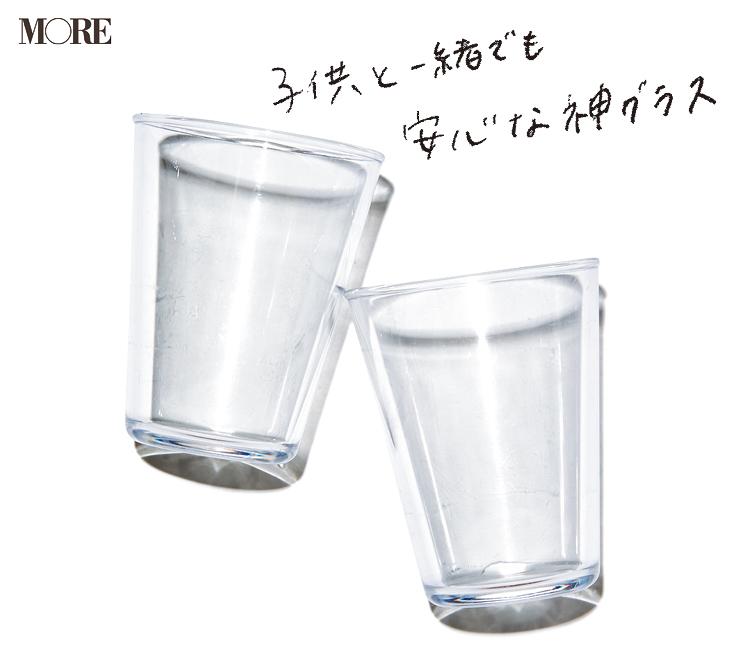 キャンプ飯におすすめのTHE GLASSの割れにくいクリアグラス