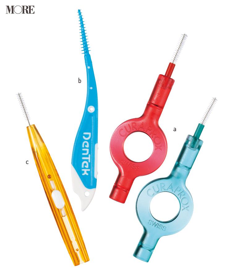 食べかす汚れが多い歯肉近くは、歯間ブラシを使おう!! 極細タイプ、ゴムタイプ、外出先でも使えるスライド式など、おすすめ3選_1