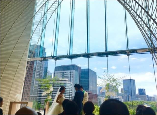 【パレスホテルでの結婚式】私も次につづけ!?生まれてはじめて◯◯Get!!_5