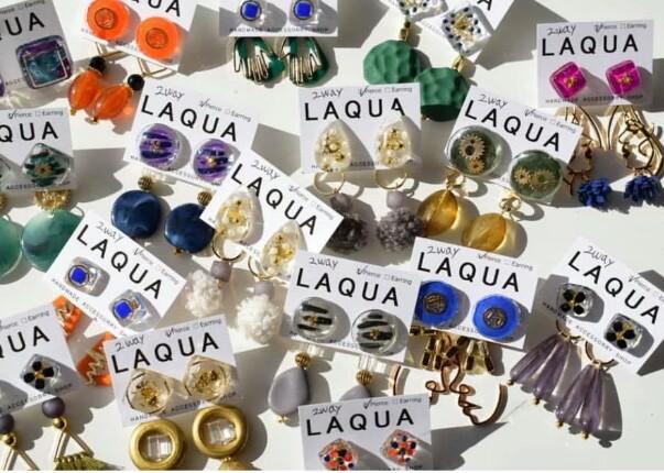 【特別感のある一点物のアクセサリー】Laquaのアクセサリーにはまっています!_1